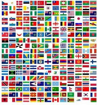 flaggor invandring