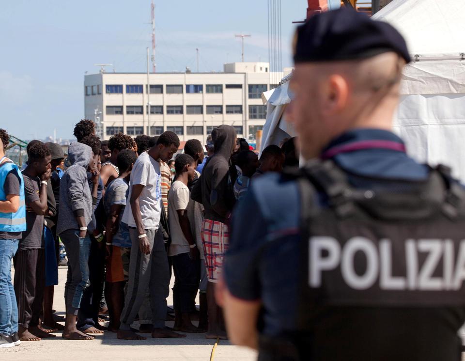 migranter italien